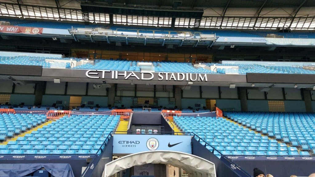 Manchester City FC's Christmas Stadium and Club Tour www.minitravellers.co.uk