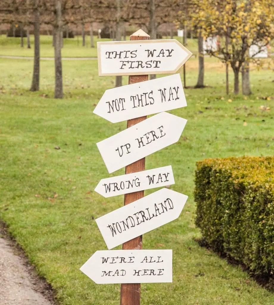 Alice's Adventures in Wonderland Garden Trail Erddig www.minitravellers.co.uk