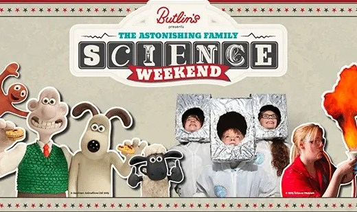 Astonishing Family Science Weekend at Butlins www.minitravellers.co.uk