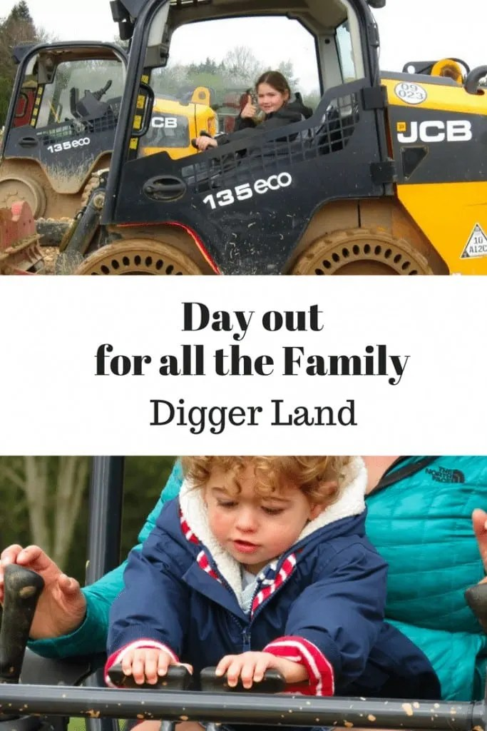 Day out for all the family Digger Land Devon www.minitravellers.co.uk