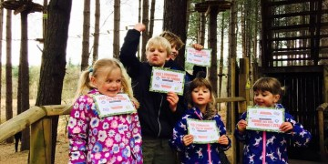 Review: Go Ape Junior Tree Top Adventure www.minitravellers.co.uk
