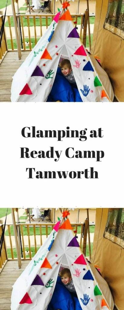 Glamping at Ready Camp Tamworth www.minitravellers.co.uk
