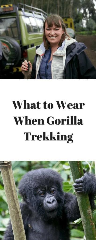 What to Wear When Gorilla Trekking www.minitravellers.co.uk