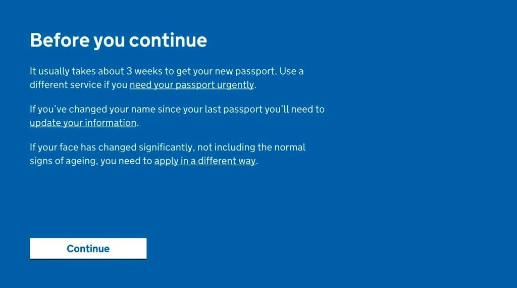 enewing a Child Passport www.minitravellers.co.uk