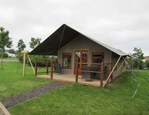 Crealy Meadows - Safari Tent Glamping in Devon www.minitravellers.co.uk