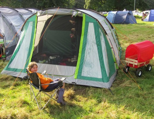 Review: Coleman Rocky Mountain 5 Tent www.minitravellers.co.uk