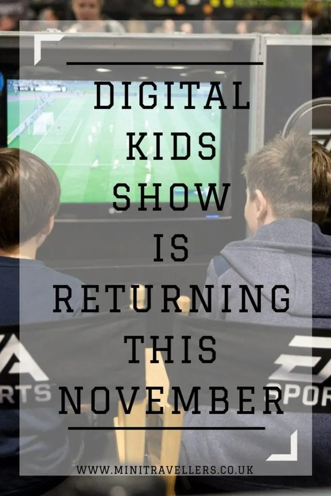 Do you kids love all things digital? Then digital kids show is the place to be!