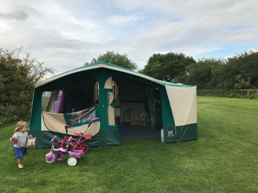 Boroughbridge Camping and Caravan Club Review www.minitravellers.co.uk