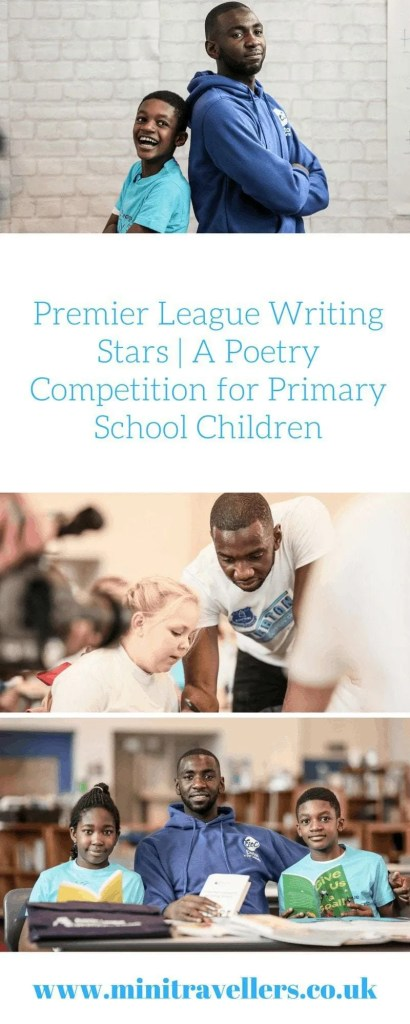 Premier League Writing Stars - A Poetry Competition for Primary School Children www.minitravellers.co.uk