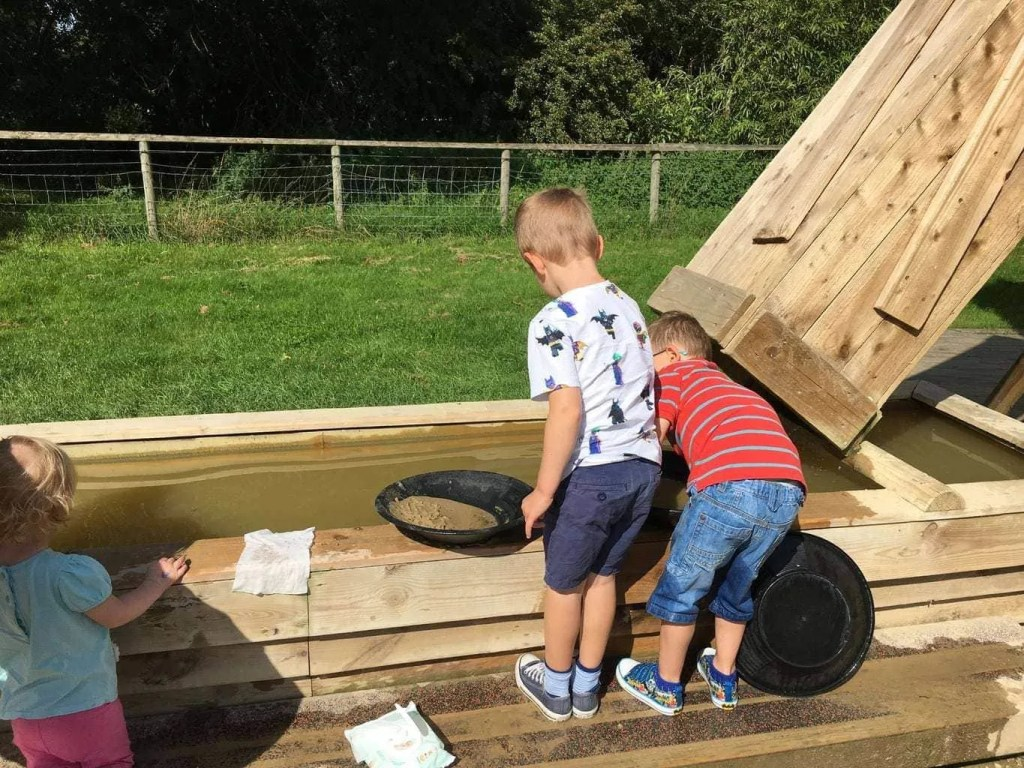 Willows Activity Farm Panning For Gold