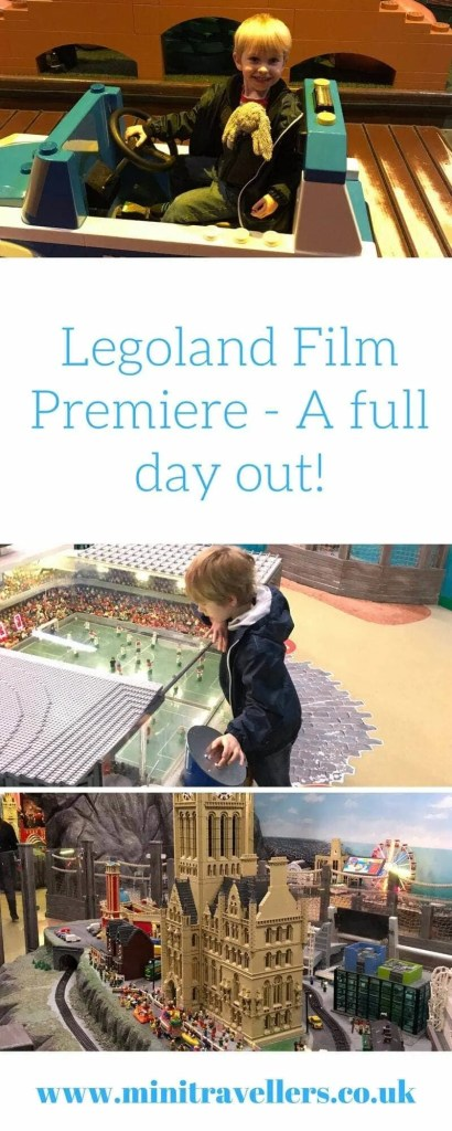 Legoland Film Premiere - A full day out!