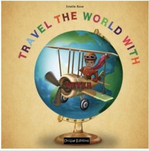 Travel the world personalised book - as featured in my Christmas gift guide featuring gifts for travel lovers