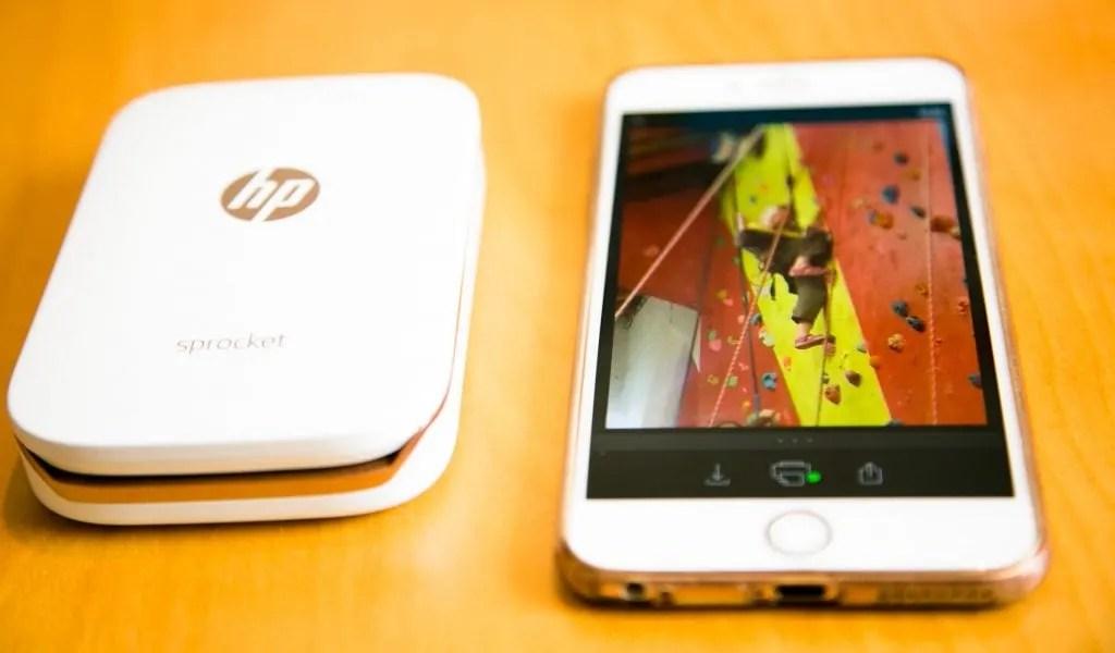 Printing Memories with HP Sprocket Photo Printer www.minitravellers.co.uk