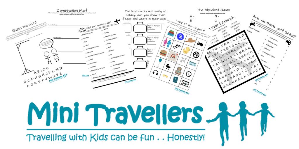 Mini Travellers Printables