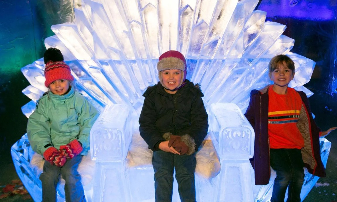 Is it worth taking kids to the Ice Bar in Liverpol?   Liverpool Ice Festival www.minitravellers.co.uk
