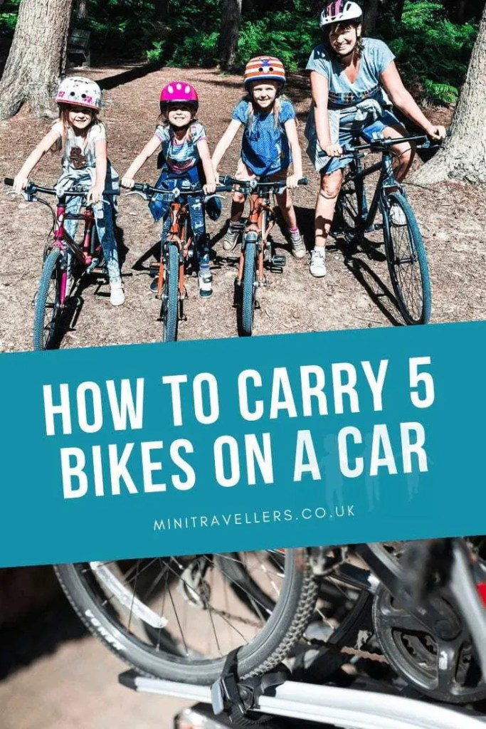 How To Carry 5 Bikes On A Car
