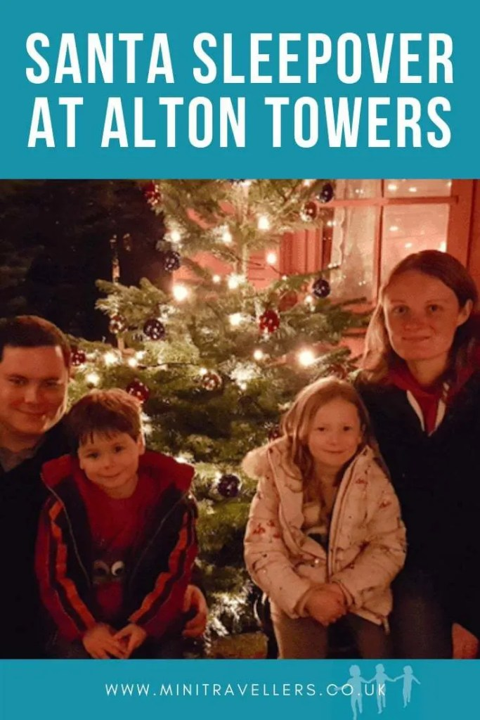 Santa Sleepover At Alton Towers