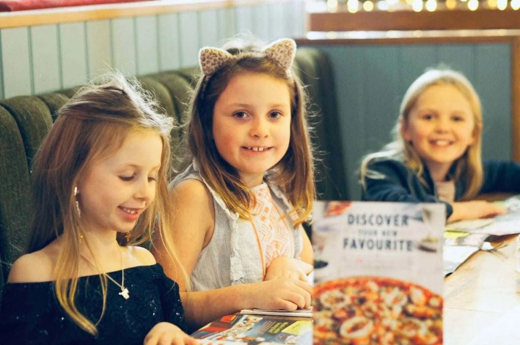 Review | Bella Italia's Kids Menu!