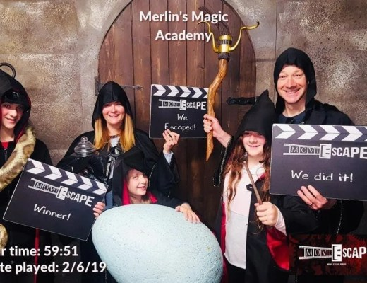 MoviESCAPE – Merlin's Magic Academy Escape Room