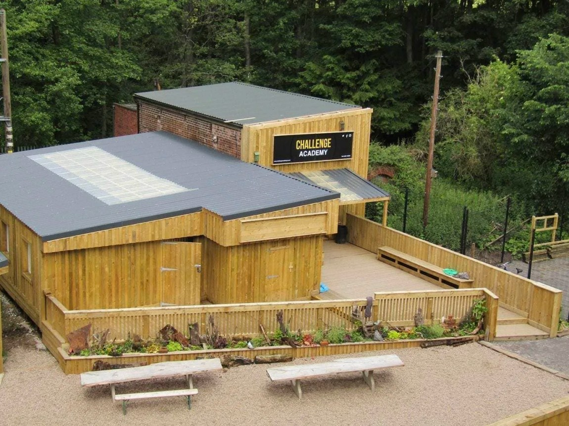 Challenge Academy in Baggeridge Country Park
