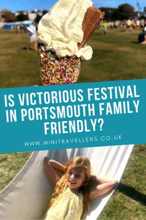 Is Victorious Festival in Portsmouth family friendly?