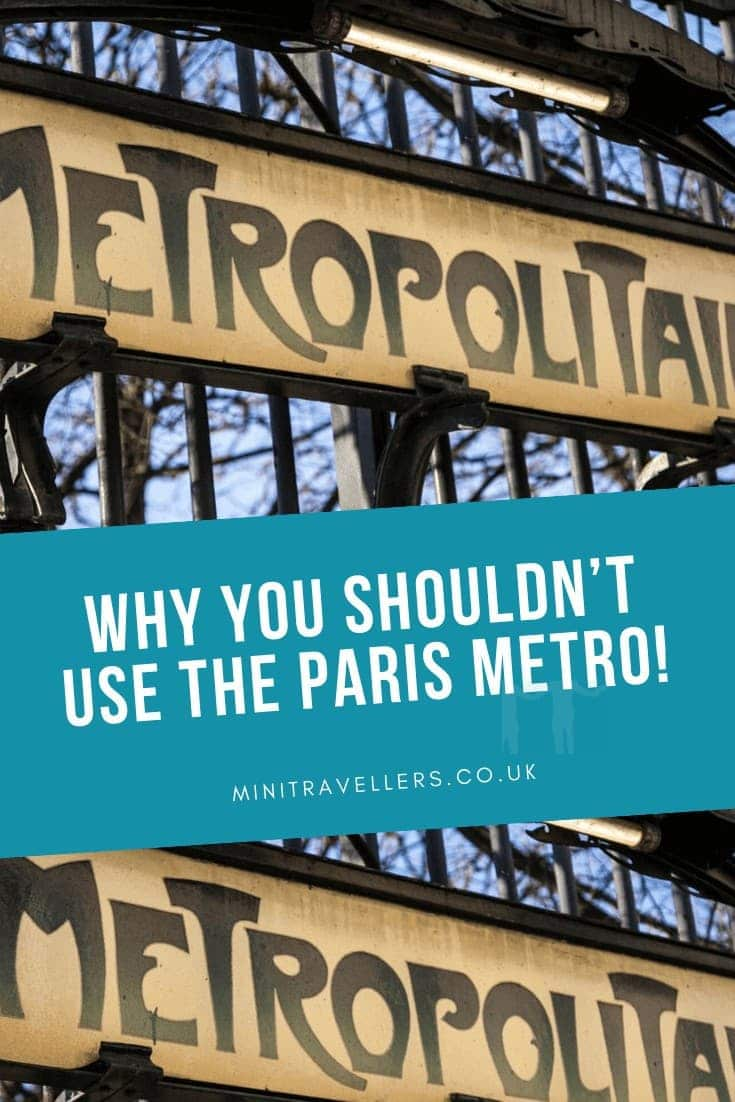Why you shouldn't use the Paris Metro!