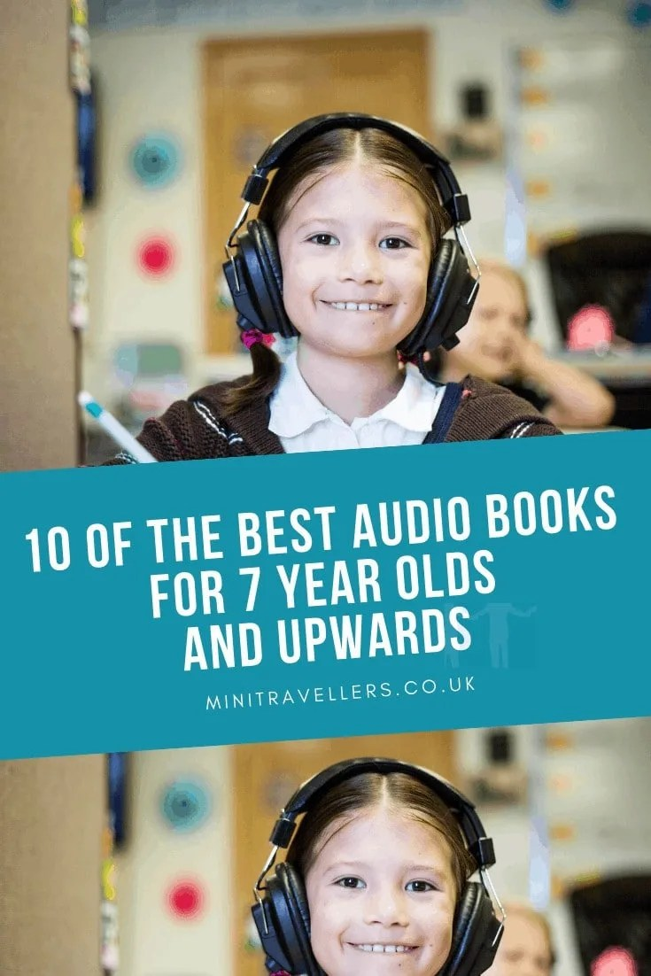 10 of the best Audio Books for 7 year olds and upwards