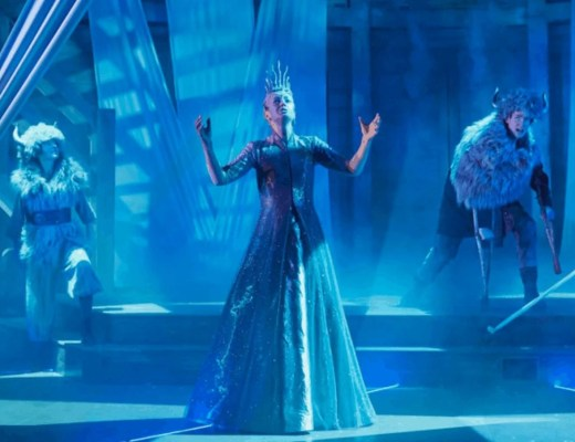 Helena Blackman in The Snow Queen at the Rose Theatre Kingston. Photo: Mark Douet