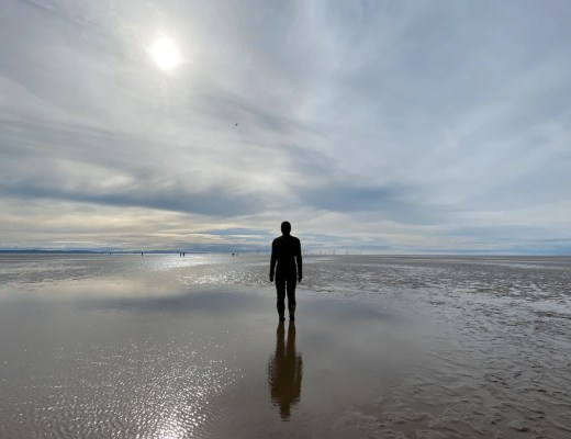 VISITING THE ANTONY GORMLEY STATUES IN LIVERPOOL | ANOTHER PLACE, CROSBY