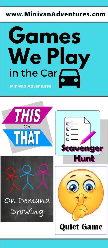 Simple Car Games to Keep Your Children Entertained During Long Car Rides / Travel Games / Scavenger Hunts / Quiet Game / This or That / Shapes in the Clouds / Quiet Game / Travel with Children / Family Road Trip / Family Travel Tips / Minivan Adventures