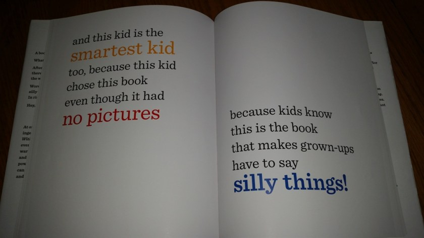 The book itself explains why children find it so funny.