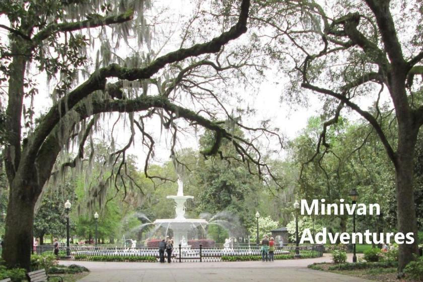 Beautiful Forsyth Park in Savannah