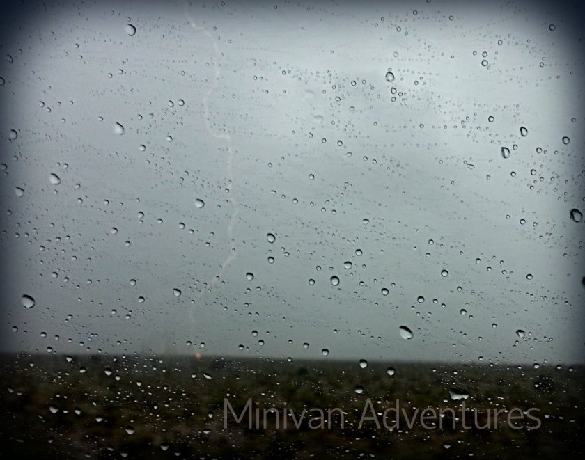 Check out the lightning we spotted as we drove through heavy rain in the Colorado mountains!