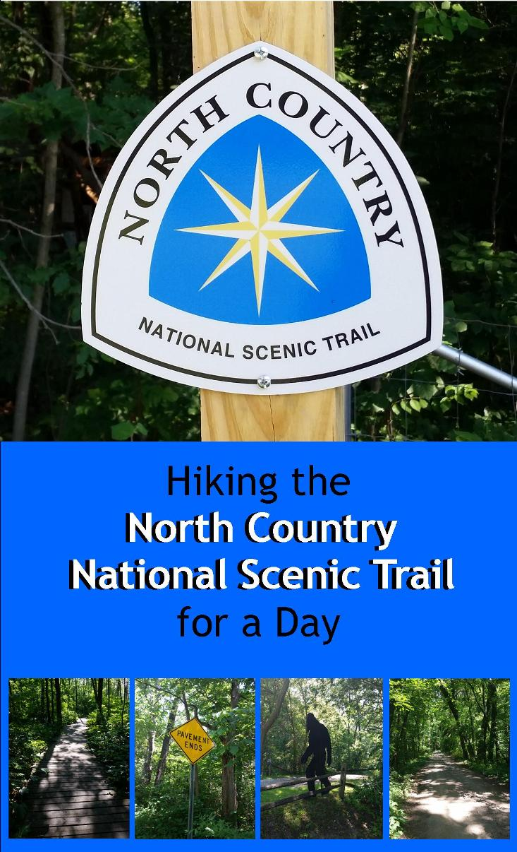 Hiking the North Country National Scenic Trail for a Day