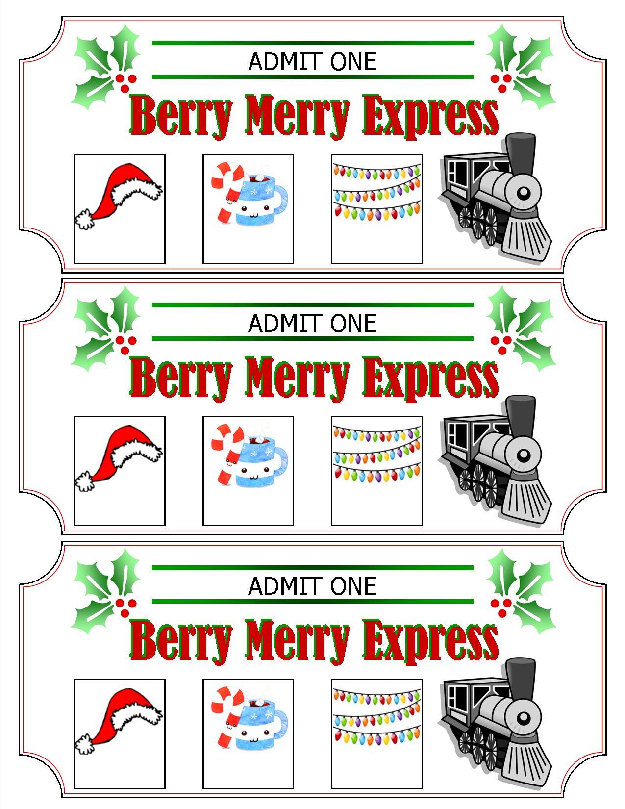 photo relating to Polar Express Ticket Printable known as Our Polar Categorical Getaway Society Minivan Adventures