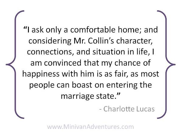15 Favorite Quotes From Pride And Prejudice Minivan Adventures