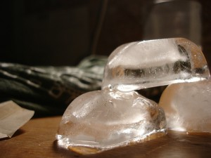 ice cubes are made colder with ice