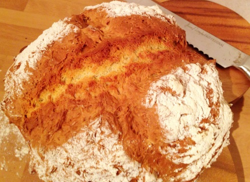 Soda bread is so quick to make