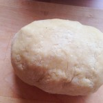 Easy to make pasta dough, done
