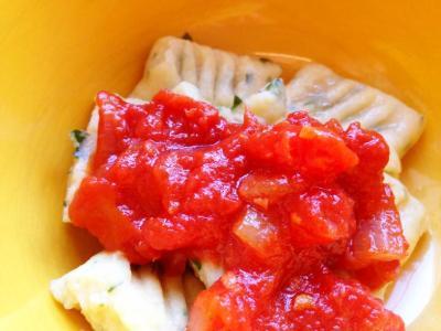 Homemade gnocchi for kids to make