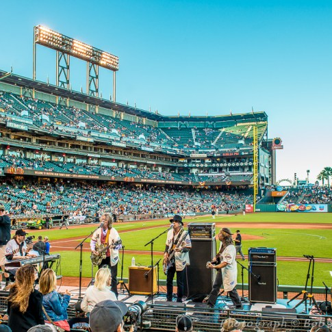 Moonalice - Grateful Dead Tribute Night, SF Giants, AT&T Park 8/13/15