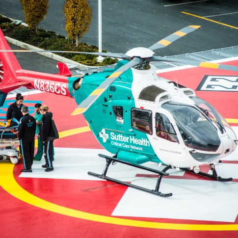 Minkin Photography - Sutter Hospital Heliport