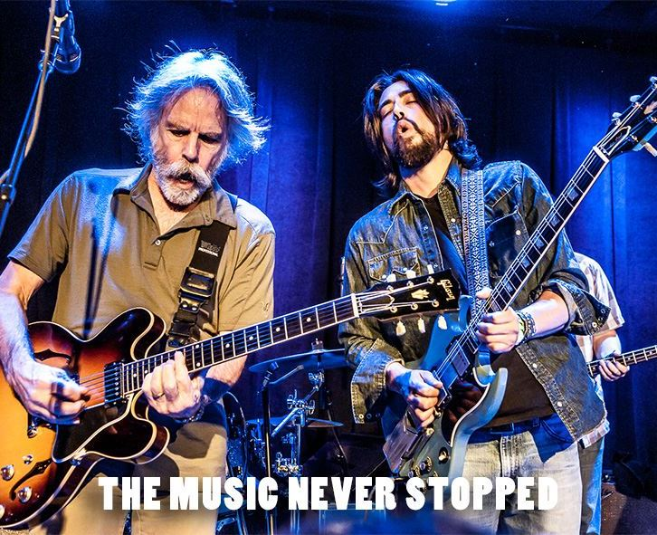 The Music Never Stopped - Epic Live Music Photos by Bob Minkin - Collector's Edition