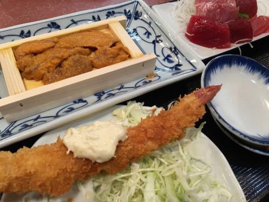 大田市場 三陽食堂