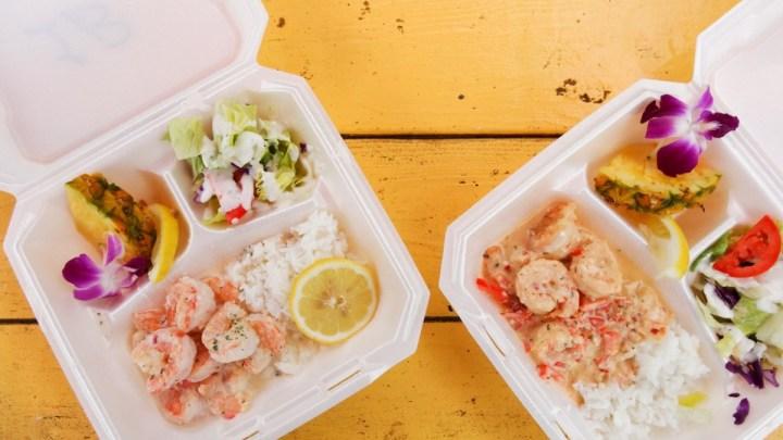 ノースショアでガーリックシュリンプ三昧! まずはCAMARON Shrimpへ