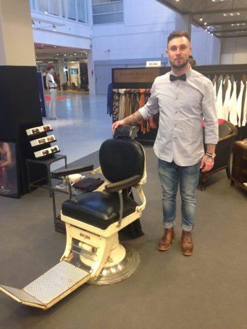 Frisør og barber Simon Rønhovde