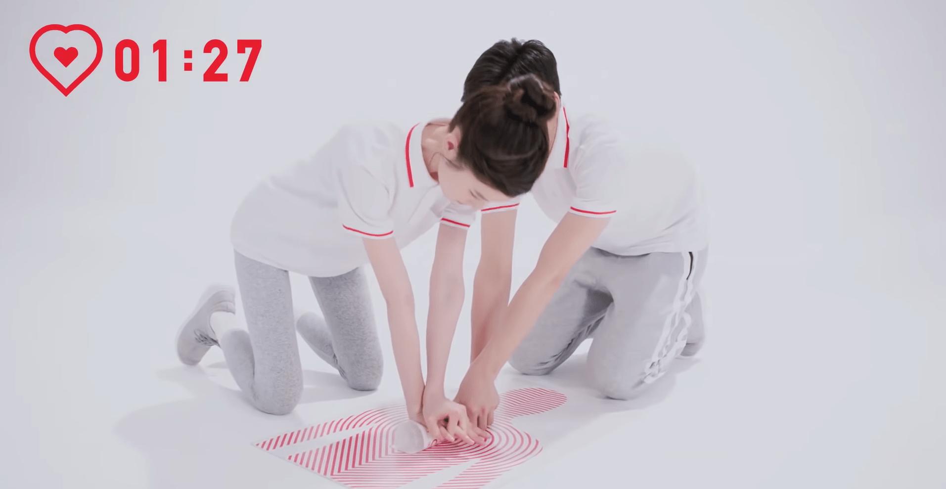 CPR TRAINING BOTTLE  心臓マッサージ