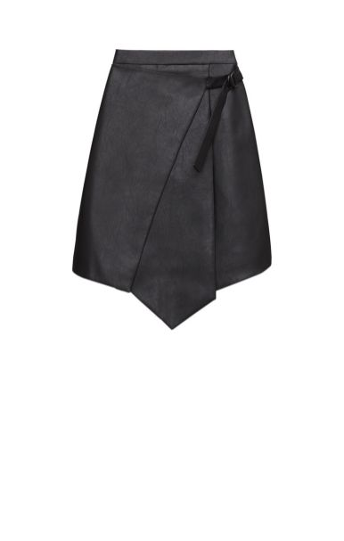 Yulissa Pleather Faux-Wrap SkirtHover to zoom Yulissa Pleather Faux-Wrap SkirtHover to zoom Yulissa Pleather Faux-Wrap SkirtHover to zoom Yulissa Pleather Faux-Wrap SkirtHover to zoom Yulissa Pleather Faux-Wrap Skirt $198