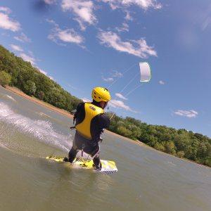 kiteboarding