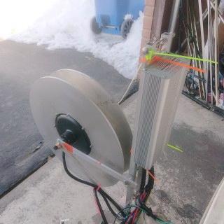 5kw paragliding winch